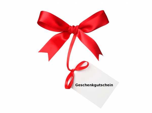 Geschenkgutschein im Wert von 60,00 € – Zustellung per Email -