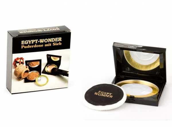Puderdose mit Sieb EGYPT-WONDER® von Tana® COSMETICS