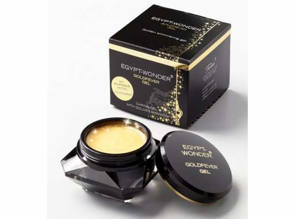Schimmer Gel EGYPT-WONDER® Goldfever Gel von Tana® COSMETICS