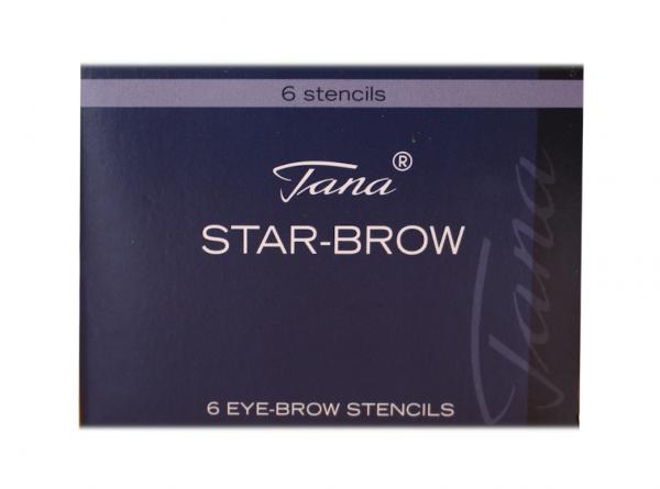 Tana® COSMETICS Augenbrauenschablone Star-Brow