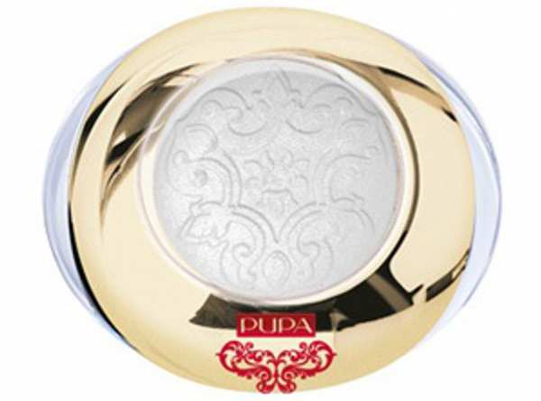 Metallic Lidschatten RED QUEEN 001 Lavish White von PUPA